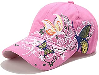 Women Baseball Caps, Adjustable Breathable Embroidered Sun Hat for Sport Golf Mesh Sunbonnet Outdoor