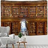 Vinoteca Vintage Con Estantería Mandala Tapices De Pared Algodón Indio Colcha Doble Sábana De Picnic Decoración De La Pared Manta Arte De La59x51inch(150x100cm)