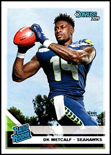 2019 Donruss #313 DK Metcalf NM-MT Seattle Seahawks Officially Licensed NFL Trading Card