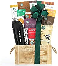 Wine Country Gift Baskets and Teavana Tea Gift Basket by Starbucks Coffee, 1 Count
