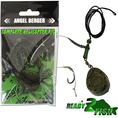 Angel-Berger Magic Baits Ready to Fish Complete Helicopter Rig Montage