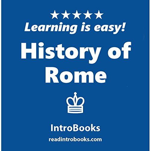 History of Rome audiobook cover art
