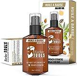 Aceite para la Barba con aceites 100% naturales 60ml Promuev