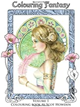 Colouring Fantasy - Colouring Book by Scot Howden (Volume 1)