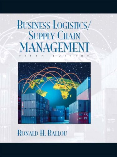 Business Logistics/Supply Chain Management and Logware CD Package (5th Edition)