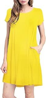 Best piko short sleeve tunic dress Reviews