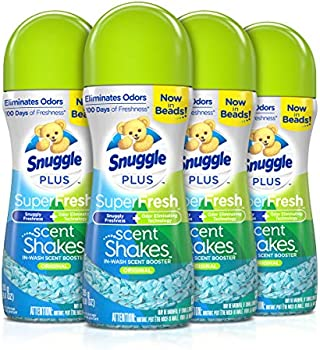 4-Pack Snuggle Scent Shakes in-Wash Scent Booster Beads
