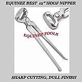 Hoof Nipper 12' Vanadium Steel Farrier Tool in Dull...