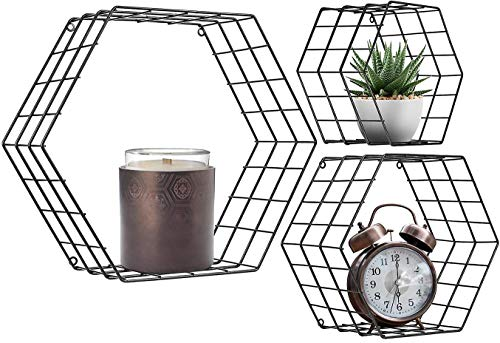 estante hexagonal de la marca aboxoo