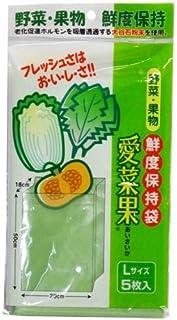 NIPRO(二プロ) 愛菜果 野菜 果物 鮮度保持袋 5枚入 L ×100個