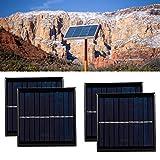 Paneles solares, cargador de células epoxi adecuado 0.18 (a) Polisilicon hecho 1 W para al aire libre