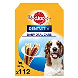 Pedigree Pack de Dentastix de uso Diario para la Limpieza Dental de Perros Medianos (1 Pack de...