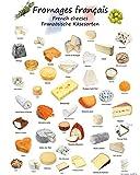 1art1 Käse - Französische Käsesorten Poster Kunstdruck