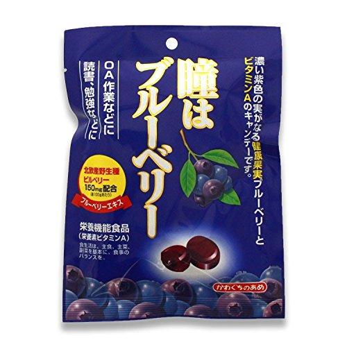 瞳はブルーベリー 健康機能食品[ビタミンA](100g)/あめ キャンディ//