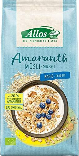 Allos Bio Amaranth Basis Müsli (2 x 1,50 kg)