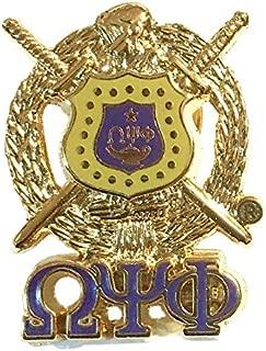 omega psi phi lapel pin