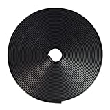【XSAJU】 リムガード 8m リムラインモール ホイール キズ防止 キズ隠し ドレスアップテープ(ブラック)