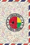 Guinea-Bissau Travel Journal: 6x9 Travel planner I Road trip planner I Dot grid journal I Travel notebook I Travel diary I Pocket journal I Gift for Backpacker