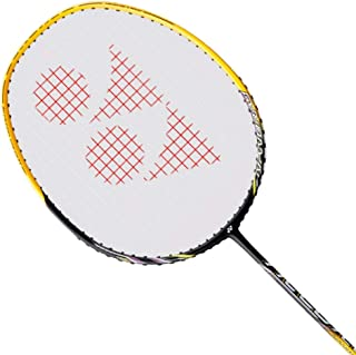 Yonex Nanoray 20 Badminton Strung Racket (Black/Yellow)(3UG4)