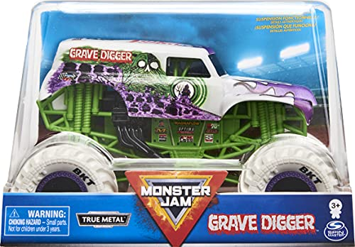 Monster Jam, Official Dragon Monster Truck, Die-Cast Vehicle, 1:24 Scale