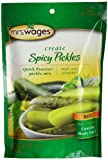 Mrs. Wages Hot Spicy Pickles Quick Process Mix (VALUE PACK of 12)