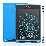 IDEASY Tableta de Escritura LCD de 12 Pulgadas, Tableta de Dibujo de un Solo Color, Tablero de Escritura LCD Electrónico para Niños, Escuela, el Hogar y la Oficina (Azul)