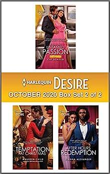 Harlequin Desire October 2020 - Box Set 2 of 2 by [Cat Schield, Maureen Child, Kianna Alexander]