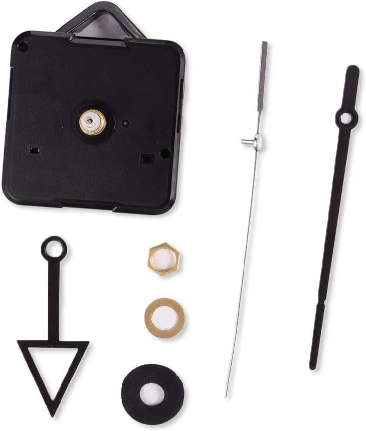 HEALLILY Non Ticking Clock Movement Max Max 47% OFF 80% OFF Movements Mechani Kits