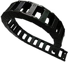 Farleshop 1 st 1 Meter 25x50 Draaddrager Kabel Drag Chain Bescherming Towline Brug Open aan beide zijden met Eindverbindin...