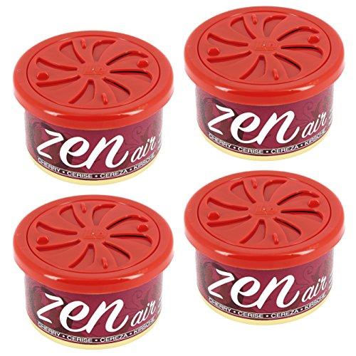 Zen Air Ambientador para Coche, Cereza, Set de 4