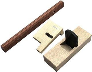 六兵衛 台直し鉋 3点セット(45mm立鉋、立鉋用定規、下端定規)