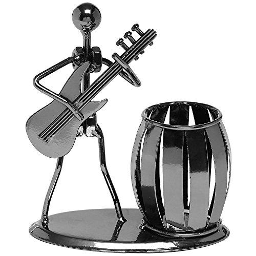 Cisixin Accesorios de Escritorio Metal Multipropósito Guitarra del Lápiz