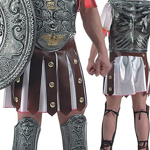 jupe du dessus pour costume de romain sur jupe imitant le cuir gonna romano romana con borchie