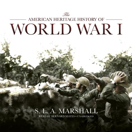 The American Heritage History of World War I audiobook cover art