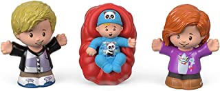Ele Toys Fisher Price Little People Big Helper Family Figures - Dad, Mom and Baby (Caucasian)
