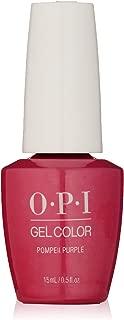 OPI GelColor, Pompeii Purple, 0.5 Fl. Oz. gel nail polish