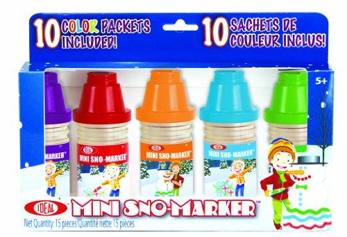 Poof Slinky 0C8338BL Ideal Mini Sno Marker Set (10-Pack