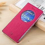 Coque Zenfone 3 ZE552KL, Yoota Etui de Protection en Cuir Coque à rabat pour Asus Zenfone 3 ZE552KL...
