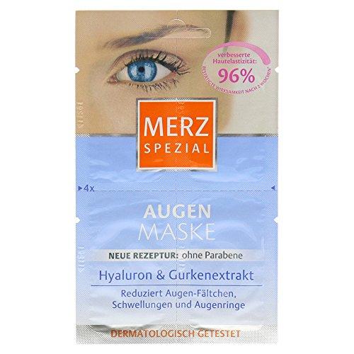 Merz Augenmaske Hyaluron&Gurkenextrakt 4x1ml