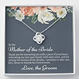 Generic Mother OF Bride Gift from Groom, Mother in Law Wedding Gift from Groom Gift for Valentine's, Birthday, Anniversary