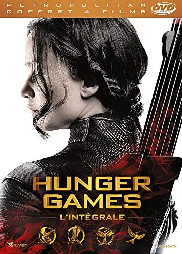 Coffret hunger games - 4 films - en dvd