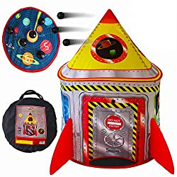 Best Space Toys for Toddlers Review - Playz 5-in-1 Rocketship Play Tent