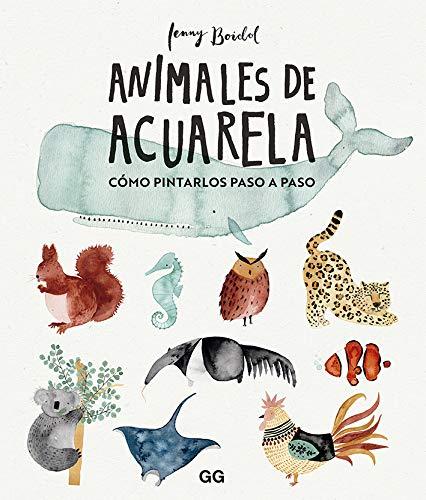 Animales de acuarela: Cómo dibujarlos paso a paso