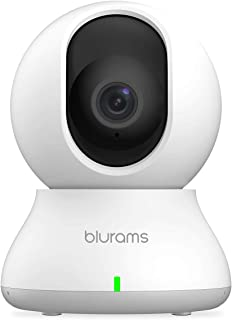 Security Camera 2K, blurams Baby Monitor Dog Camera 360-degree for Home Security w/ Smart Motion Tracking, Phone App, IR N...