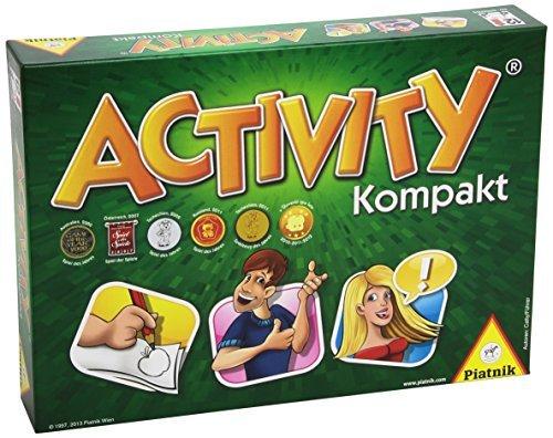 Activity PIATNIK Compact Edition 3 - 16 players (6002.65) over 12 years by Piatnik
