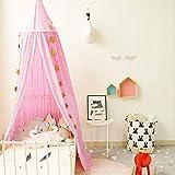 Baby Baldachin Betthimmel, Baumwollmoskitonetz, Babyspiel-Lesezelt, Schlafzimmer Dekoration - 2