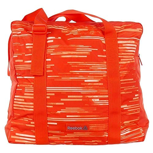 Reebok Damen WR W GRPH Tote Tasche, Orange (Carote), 45 x 24 x 15 cm