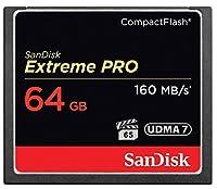 サンディスク 【並行輸入品】SanDisk SanDisk Extreme Pro 64GB CFカード (160MB/s)