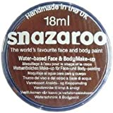 Snazaroo- Pintura facial y Corporal, 18 ml, Color marrón oscuro, 0 (Colart 18999)