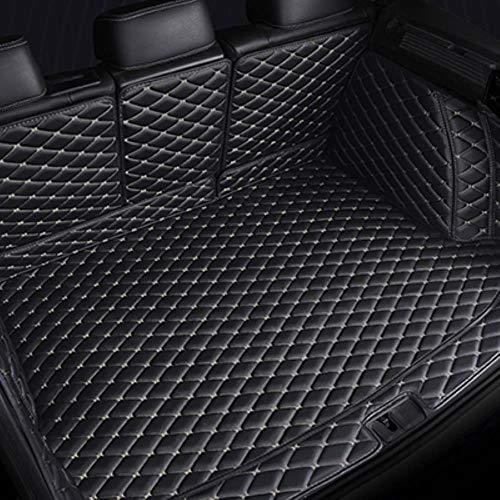 Hunulu Kofferraummatten FüR Renault Captur Kadjar Koleos Antirutschmatte Kofferraumdecke Kofferraumwanne Schmutzmatte, Schwarz Beige,